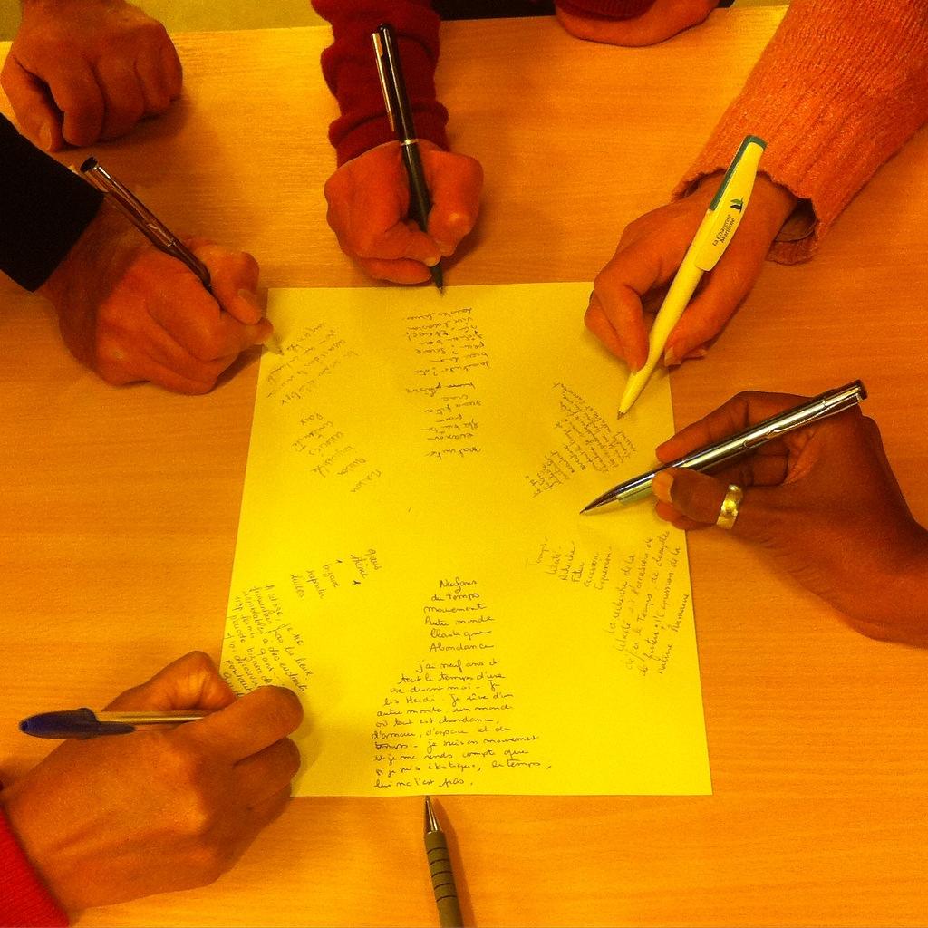 Atelier d'écriture d'Estelle Loiseau à la MJC Berlioz
