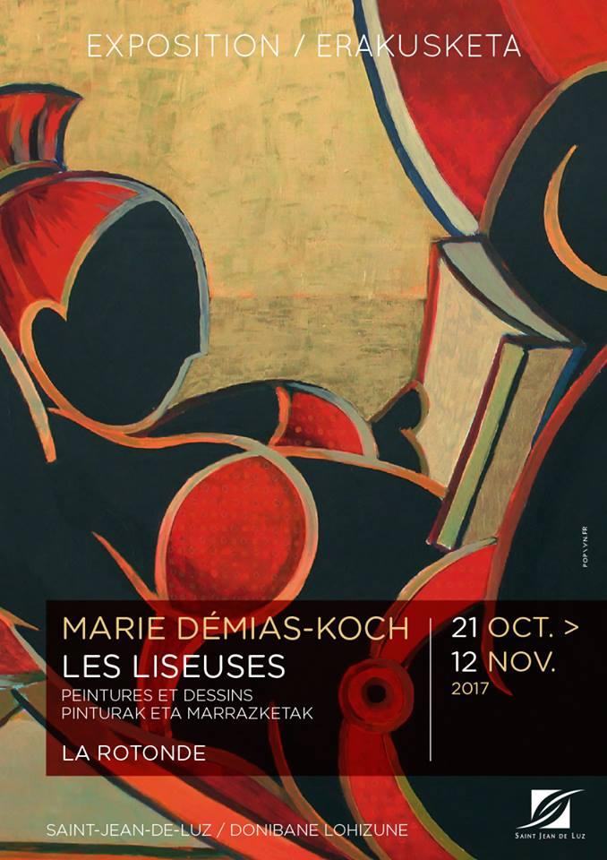 Exposition Marie Démias-Koch et Atelier d'écriture Estelle Loiseau